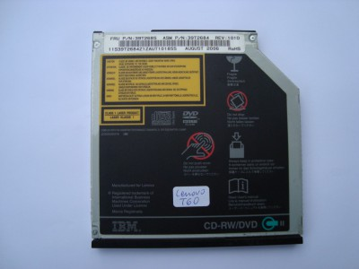 DVD-ROM Panasonic UJDA765 IBM ThinkPad T60 39T2685 IDE